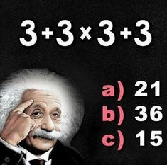 What's the answer? Check our story tomorrow morning for the answer . Stem School, School Fun, Brain Teasers, Fun Math, Law Of Attraction, Trivia, Positive Vibes, Einstein, Fitness Motivation