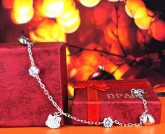 Hellokitty head bracelet  GTLMN14400 Rp 328.000 Silver 925 lapis emas putih 18 karat #dparis #dparissilver #jewelry #beauty #bracelet  DPARIS Beautify U