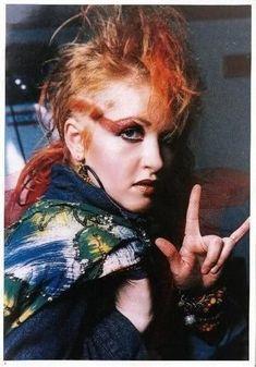 1980s Makeup, Punk Makeup, Cindy Lauper 80s, Cyndi Lauper, Colour Gel Photography, Photography Women, 80s Pop Music, Little Miss Sunshine, Best Novels
