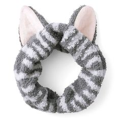 Cozy & Cute Kitty Cat Ears Hair Band. This cute cat ears  hair band is designed to be used during face washing, bathing or any kind of spa-relaxing moment. Wrap your hair up with this lovely hair turban for the purr-fect experience.