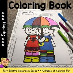 Your Students will ADORE these Coloring Book Pages for Spring! Add it to your plans to compliment any Spring Unit! 42 Coloring Pages For Some Spring Fun! Perfect for morning work, emergency su Spring Coloring Pages, Easter Coloring Pages, Coloring Book Pages, Second Grade Teacher, First Grade Math, Math Subtraction, Parent Volunteers, Kindergarten Worksheets, Creative Writing