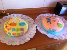 Torta de pasta de goma