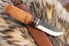 Custom Nordic Knife, Puukko, High Carb. Skinner, Scandi, Knives by L. C. Patrick  | eBay