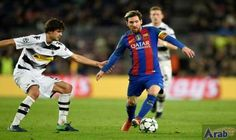 Perfect 10 for Messi in Barca cruise