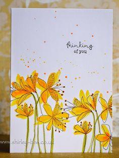 shirley-bee's stamping stuff: An Abundance Of Flowers