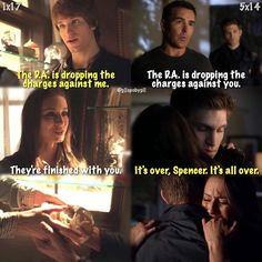 #PLL 1x17/5x14 - Spencer and Toby