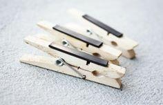 DIY – Wasknijper magneet