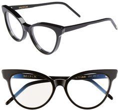 f5c158c814 Wildfox Black La Femme 54mm Optical Glasses Fashion Eye Glasses