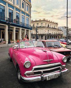 "110 Likes, 3 Comments - C A I J I N 🌈 (@caijin) on Instagram: ""Oldie but a goodie 💛🚗🇨🇺 #havanacuba #havanavieja #igerscuba #ig_cuba #exploringcuba"""