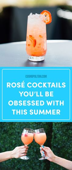 14 Rosé Cocktails You'll Be Obsessed With This Summer - Cosmopolitan.com