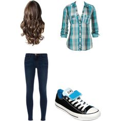 Casual outfit. Anything with Converse is good for me!!