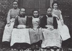 Geldropse fabrieksarbeiders, omstreeks 1900
