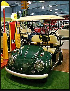 VW golf cart~