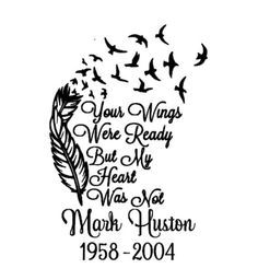 In loving memory, in memory decal, memory car decal, loved one decal, in memorium, feather with birds, with sympathy, memorial decal, memory