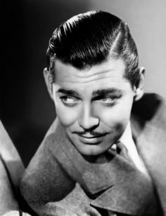 Clark Gable. IN GONE WITH THE WIND.