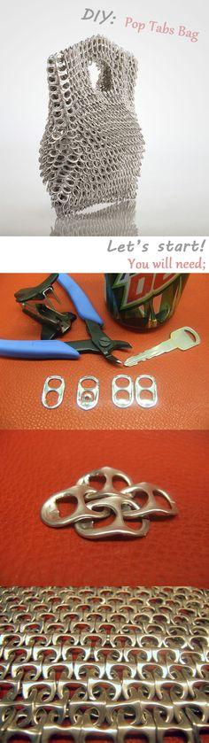 DIY: Pop Tabs Bag