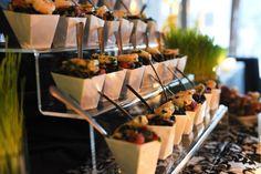 modern creative food presentation wedding - Google Search