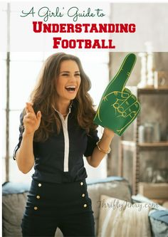 Don't know a tight-end from a quarterback? This Girls Guide to Understanding Football will teach you the basics about the game of football.