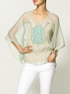 Rachel Zoe printed blouse