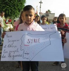 Peace procession and Prayer day in Syria on the Day of the Child, 01.06.2016
