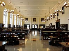 Reading room at Emory University in Atlanta