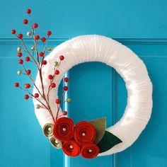 Top 10 Adorable DIY Christmas Wreaths