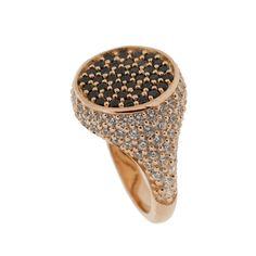 Pinky Ring Anello da mignolo made with SWAROVSKI ZIRCONIA