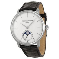 Frederique Constant Slim Line Moonphase Automatic Mens Watch 705S4S6