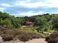 Thors Stone, a large red sandstone outcrop on Thustaston Common of unusual shape and appearance, is a place shrouded in legend. Early Viking settlers are purported to have held religious ceremonies there. A large rectangular block of stone that is 50 feet in length, 30 feet wide by 25 foot high which has been eroded over thousands of years.