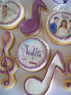 Galletas de Violetta!!!!