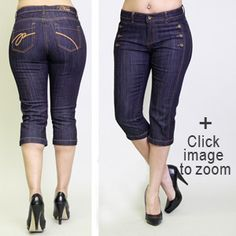 Top+Jeans+for+Curvy+Women | images of check out pzi cropped jeans jasmine dark denim capri ...