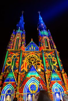 Catharinakerk GLOW-Eindhoven 2014 by Oleg Matveichuk on 500px