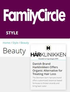 Danish brand Harklinikken offers organic alternative for treating hair loss
