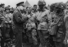 Eisenhower on the eve of D-Day in World War II. He understood the risks and responsibilities of war. | WWII