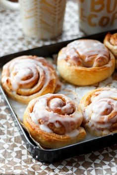 Bułeczki cynamonowe - Cinnamon rolls