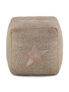 Sitzkissen Stern