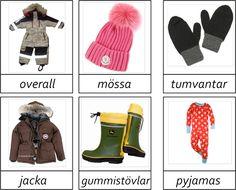 34 kort om kläder i tre delar.Vill du ha materialet så maila mig. montessorimaterial@hotmail.com PS. Om det fattas kläder så kommentera gärna så kan jag lägga till.
