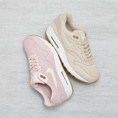 Nike Air Max 1 Prism Pink & Oatmeal White. #exclusive  Limited stock now availble on  21st April 2017.