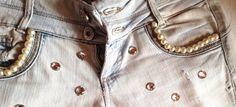 Custom Trend : Customizzare e ricamare vestiti e accessori  #denim #beads #custom #fashion #jeans #decorations #diy #fashionblogger