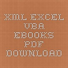 Xml Excel Vba - Ebooks Pdf Download