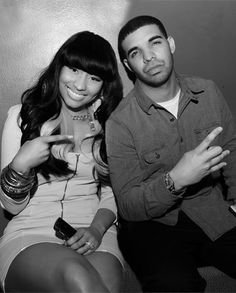 Drake and Nicki Minaj Nicki Mianj, Nicki And Drake, Selena Gomez Kiss, Nicki Minaj Pictures, Aubrey Drake, Young Money, American Rappers, Celebs, Celebrities
