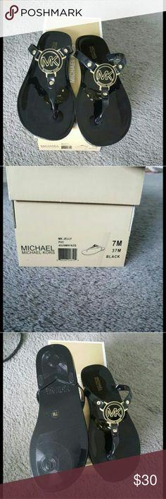 Michael kors flip flops New with the box Michael Kors Shoes Sandals