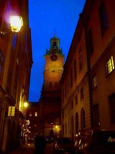 """""""Gamla Stan"""" Old Town, Stockholm.  #stoccolma #svezia"""