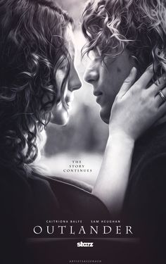 Tis Life — artistsassenach: Jamie x Claire: Outlander Poster...