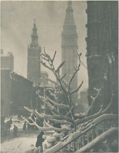 Two Towers - New York, 1911, Alfred Stieglitz