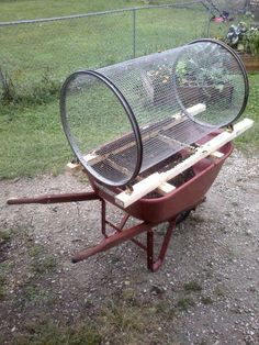 Average Gardeners Don't Need a Motorized Compost Sifter. This One is Easy to Build And Affordable