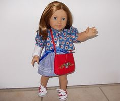 American Girl doll outfit OOAK  with by GrannyAnniesPlace on Etsy, $40.00