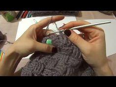 Шапка пилотка крючком! Часть 2 crochet FORAGE-CAP - YouTube