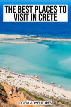 13 Spectacular Places to Visit in Crete: Local Favorites & Hidden Gems - Sofia Adventures Best Honeymoon, Honeymoon Destinations, Crete Greece, Mykonos Greece, Athens Greece, Cool Places To Visit, Places To Travel, Balos Beach, Creta