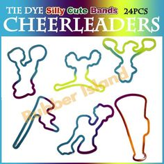 bulk cheerleader goodies | 360 Silly Shaped Rubber Bands Bandz Bracelets Wholesale | eBay